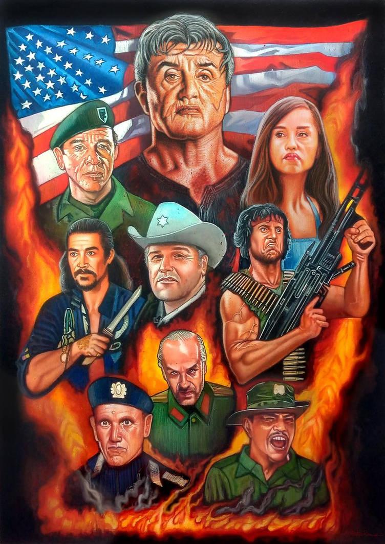 Rambo The Blood Saga