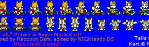 Tails in SMK by CyberMaroon
