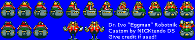 Eggman in SMK by CyberMaroon