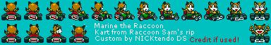 Marine the Raccoon in SMK