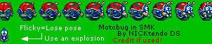 Motobug in SMK by CyberMaroon
