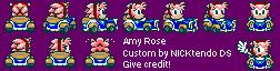 Classic Amy in SMK by CyberMaroon