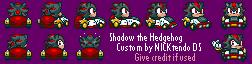 SMK Sonic Drift Shadow by CyberMaroon