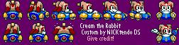 SMK Sonic Drift Cream by CyberMaroon