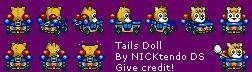 SMK Sonic Drift Tails Doll