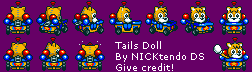 SMK Sonic Drift Tails Doll by CyberMaroon