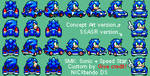 SMK All-Stars Racing Sonic by CyberMaroon