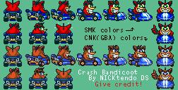 SMK Crash Bandicoot by CyberMaroon