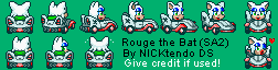 SMK Rouge, Sonic Adventure 2 Route 280 car by CyberMaroon