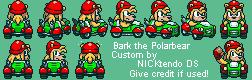 SMK Sonic Drift Bark the Polarbear by CyberMaroon