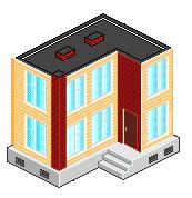 pixel building by lovegood23