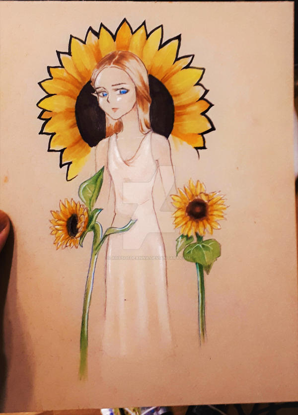 Sunflower by ArtsofDeanna