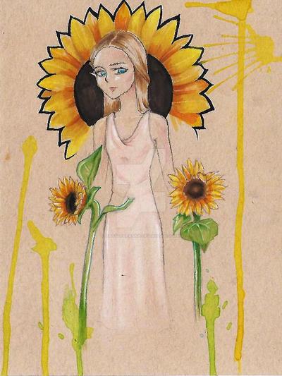 Sunflower remastered by ArtsofDeanna