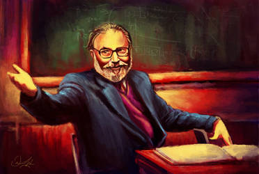 Abdus Salam by inalig
