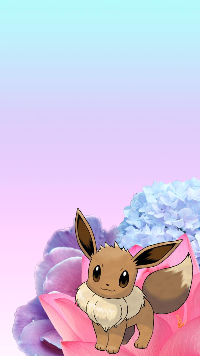Eevee iPhone Wallpaper by meowrianne ...