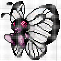 Butterfree Pattern by takocos
