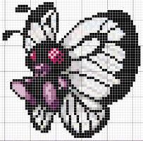 Butterfree Pattern by takocos