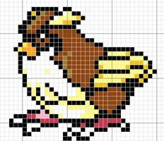 Pidgey Pattern by takocos