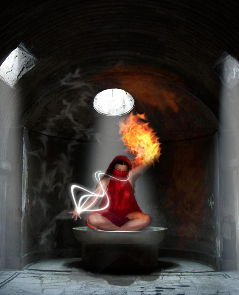 Priestess by e-heidi-liz