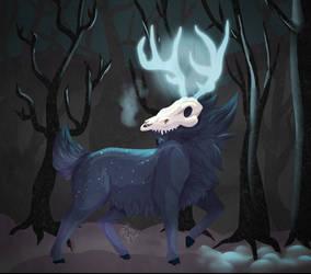 Morga-ham [ArtFight Attack] by DarkSunshine92