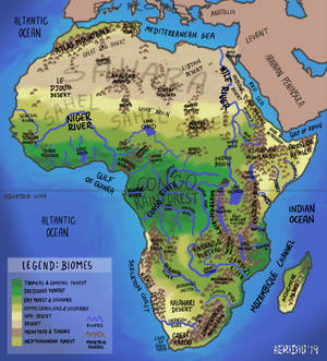 Africa Geographic Map
