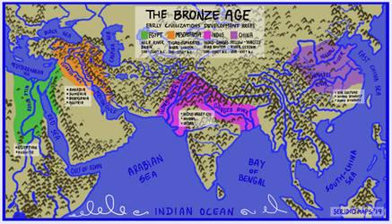 Bronze Age Early Civilization Powerhouses