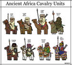 Ancient African Cavalry I