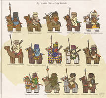 African Cavalry Units - North Africa and Sahel