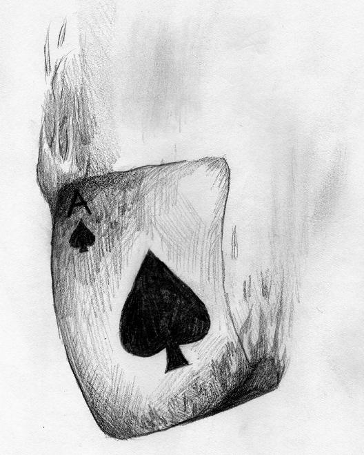 Ace of spades by 21jesusfreak