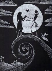 Jack and Sally by 21jesusfreak
