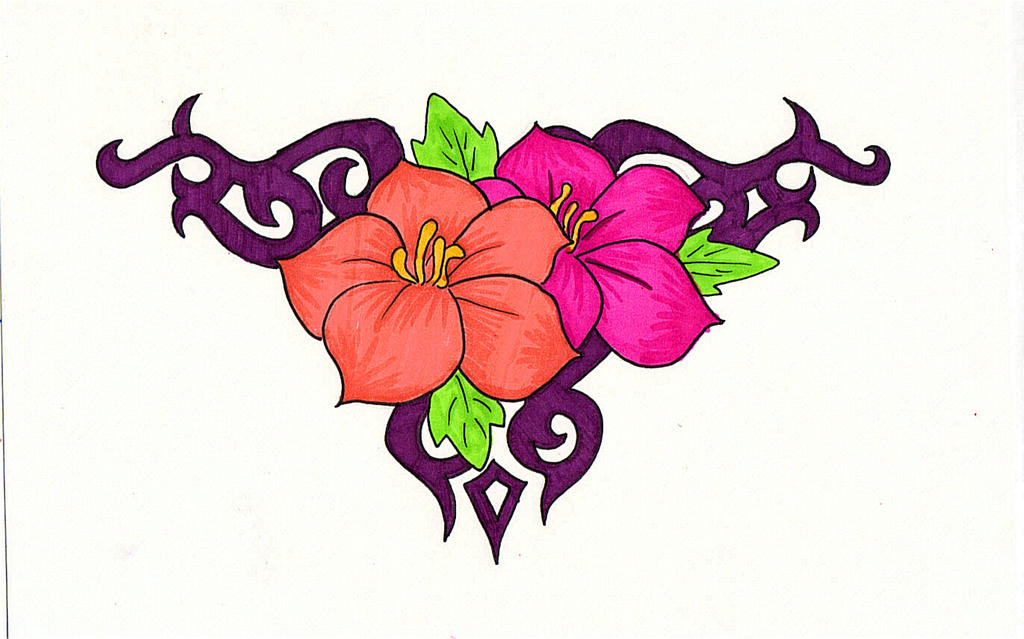 Flower design by 21jesusfreak on deviantart flower design by 21jesusfreak altavistaventures Image collections