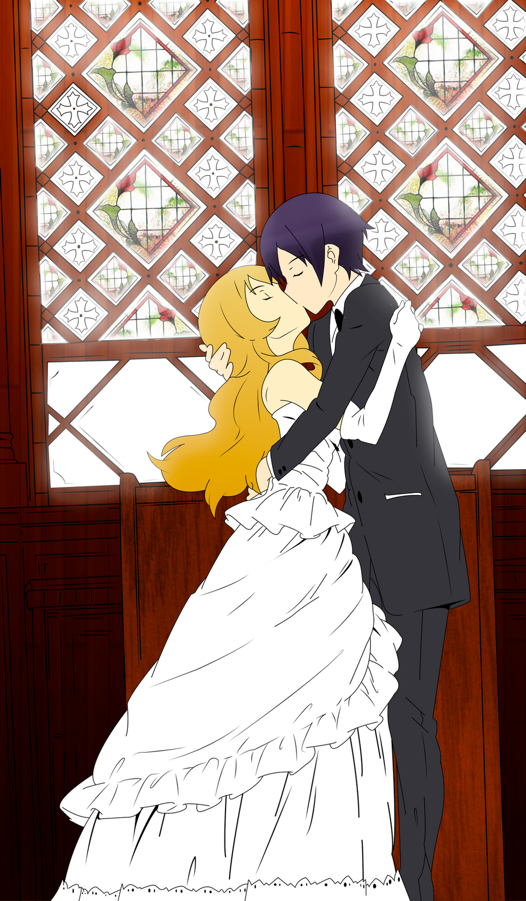 Kirino x Kyousuke Kiss by RegisNex79 on DeviantArt