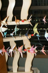 Origami Crane Mobile by Valley-of-Egeria
