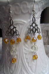Autumn Sunset Earrings by Valley-of-Egeria