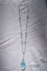 Iridescent Ice Necklace by Valley-of-Egeria
