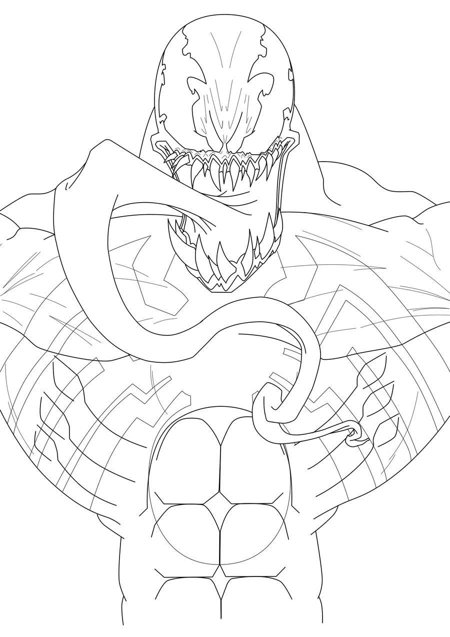 Dibujos Para Colorear De Spiderman Y Venom ~ Ideas ...