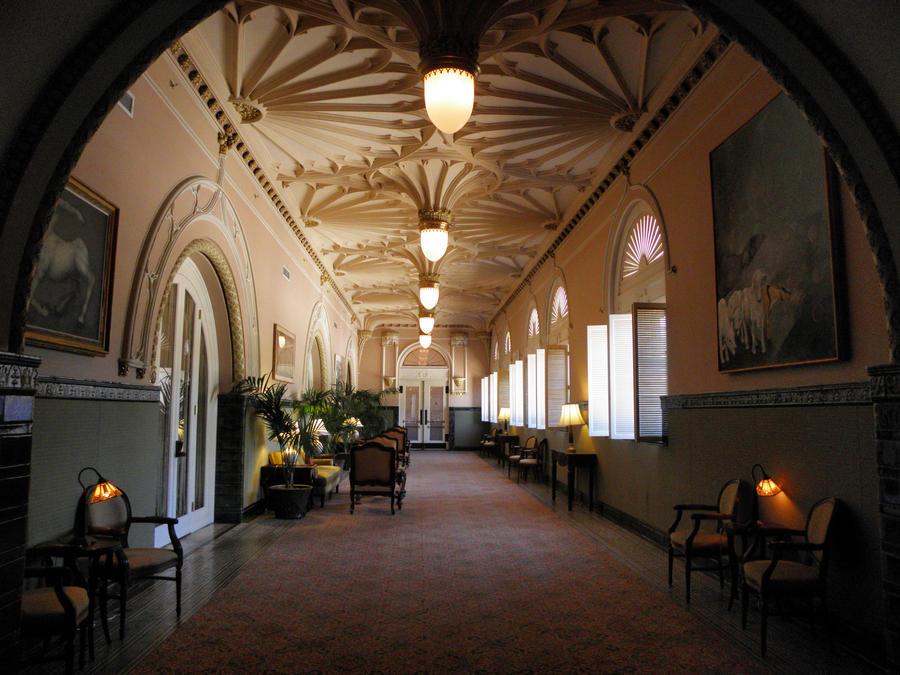 Gothic Hallway