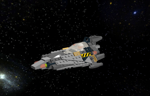 Red-Ship 02 (Lego)