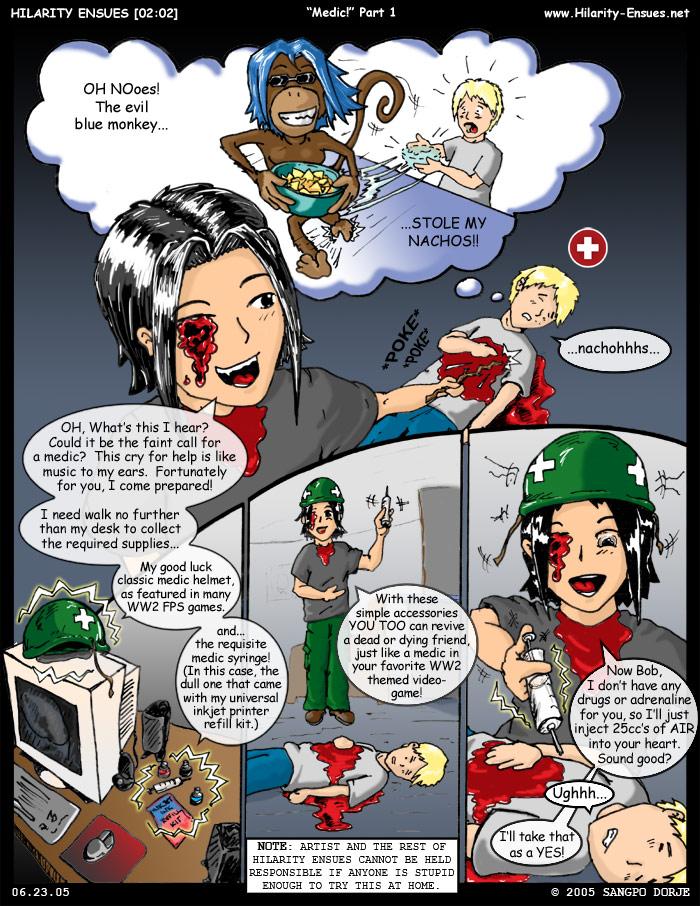 Comic: HE_2-2 by Drakx