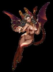 Demongirl render by Diablo7707