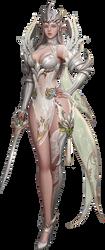 elf warrior render by Diablo7707
