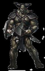 Orc render by Diablo7707