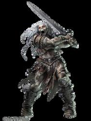 Pathfinder  Rage Wight By Willobrien render by Diablo7707