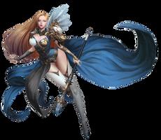 Hak-sun-kim-goddess-w render edit