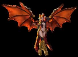 Demon girl render