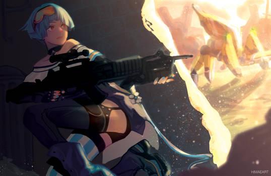 zas m21 (Girl's Frontline)