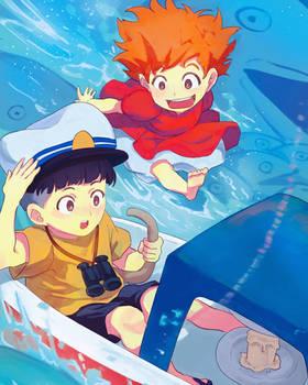 Sail Away! (Ponyo)