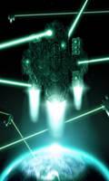 Alien Fortress by Daniel-Abreu