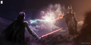 Sauron vs Vader