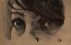 My Eyes selfortrait